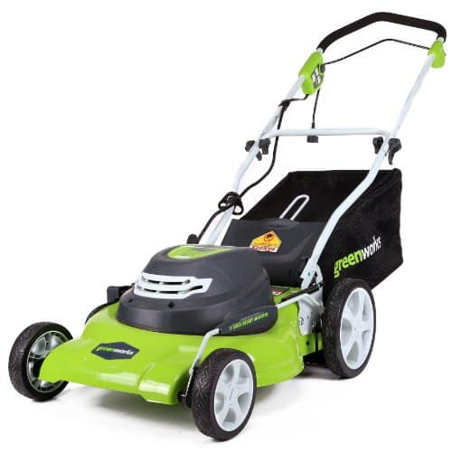 GreenWorks Corded Lawn Mower