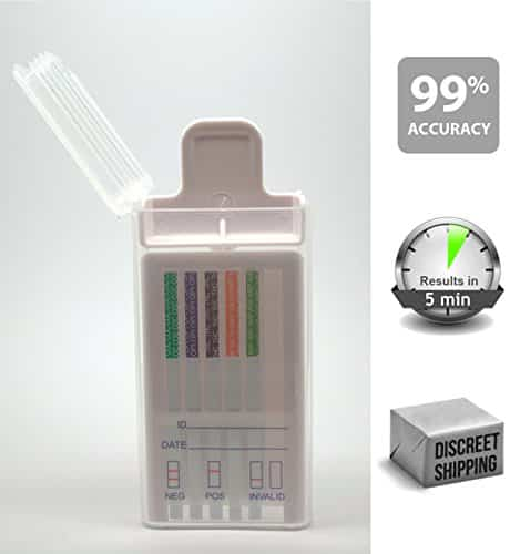 5 Pack of STATSWAB Drug Screen