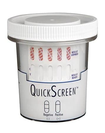 QuickScreen 12 Panel Urine Drug Test Cup 9308ZN