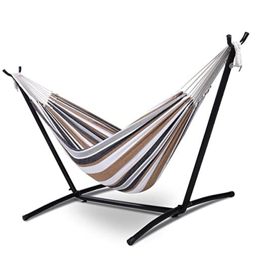 Giantex Double Hammock With Steel Frame