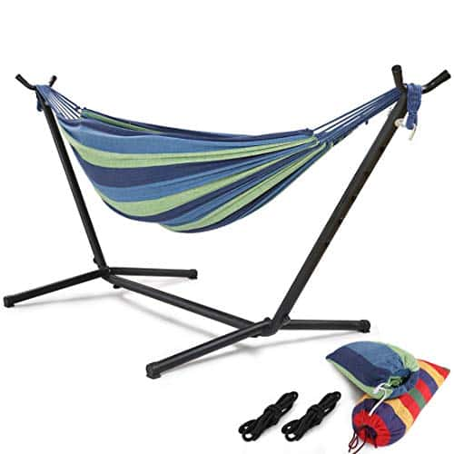 Hongjun Double Hammock With Stand