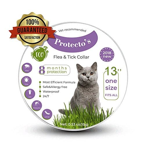 Protecto's Cat Flea Collar Tick Collar for Cats