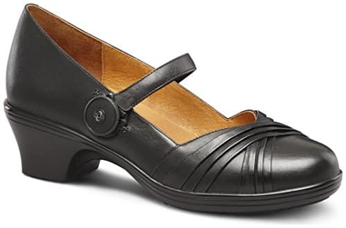 Dr. Comfort Cindee Women's Diabetic Extra Depth Heel Dress Shoe Leather BOA