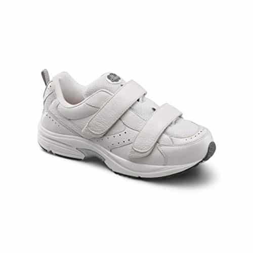 Dr. Comfort Winner-X Men's Therapeutic Diabetic Extra Depth Shoe: 11.5 Wide (W/4E) White