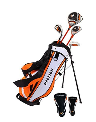 PreciseGolf Co. Precise X7 Junior Complete Golf Club Set for Children
