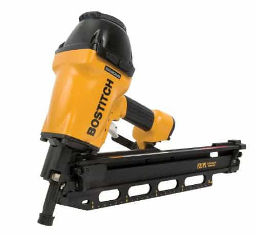 Bostitch Framing Nailer With A Round Head