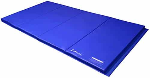Z Athletic 4ft x 8ft x 2in Gymnastics Folding Exercise Gym Mat