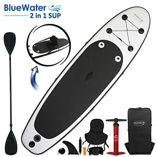 10' Inflatable Stand Up Paddle Board/Kayak and SUP!