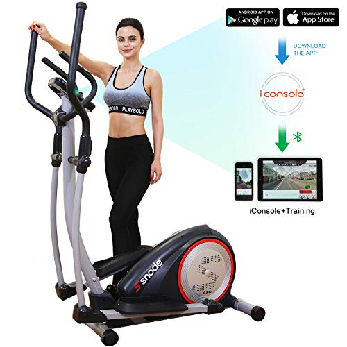 Snode E20i Magnetic Elliptical Machine Trainer Fitness Exercise Equipment
