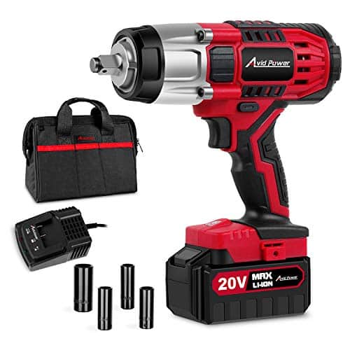 20V MAX Cordless Impact Wrench by Avid Power