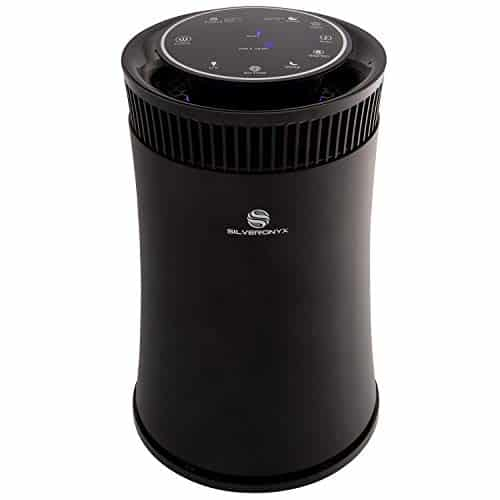 SilverOnyx Air Purifier for Home with True HEPA Filter