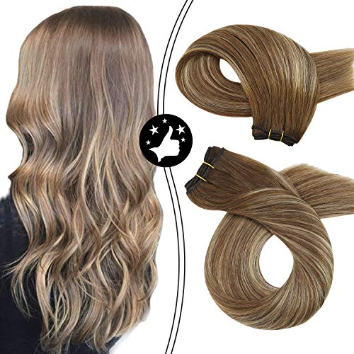 Moresoo 16-inch Hair Weft Extensions