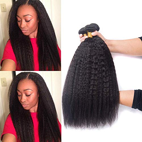 DAIMER Sew in Hair Weave Natural Black