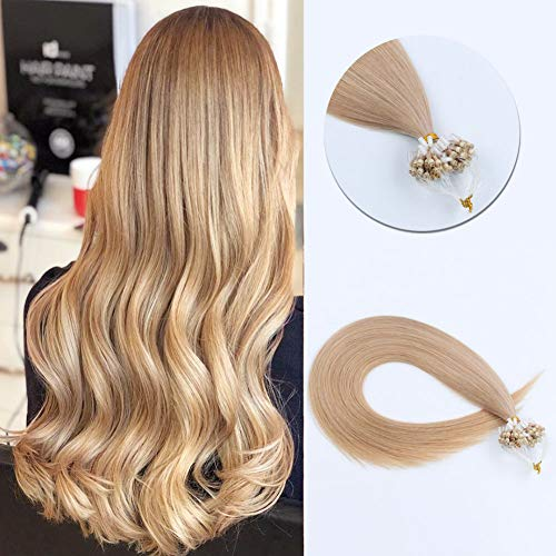 Sixstarhair 16Inch Micro Ring Beads Hair Extensions