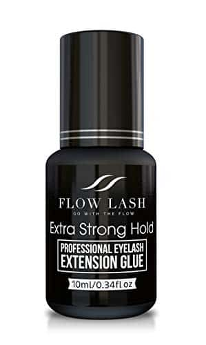 Flow Lash Eyelash Extension Glue – Extra Strong Hold